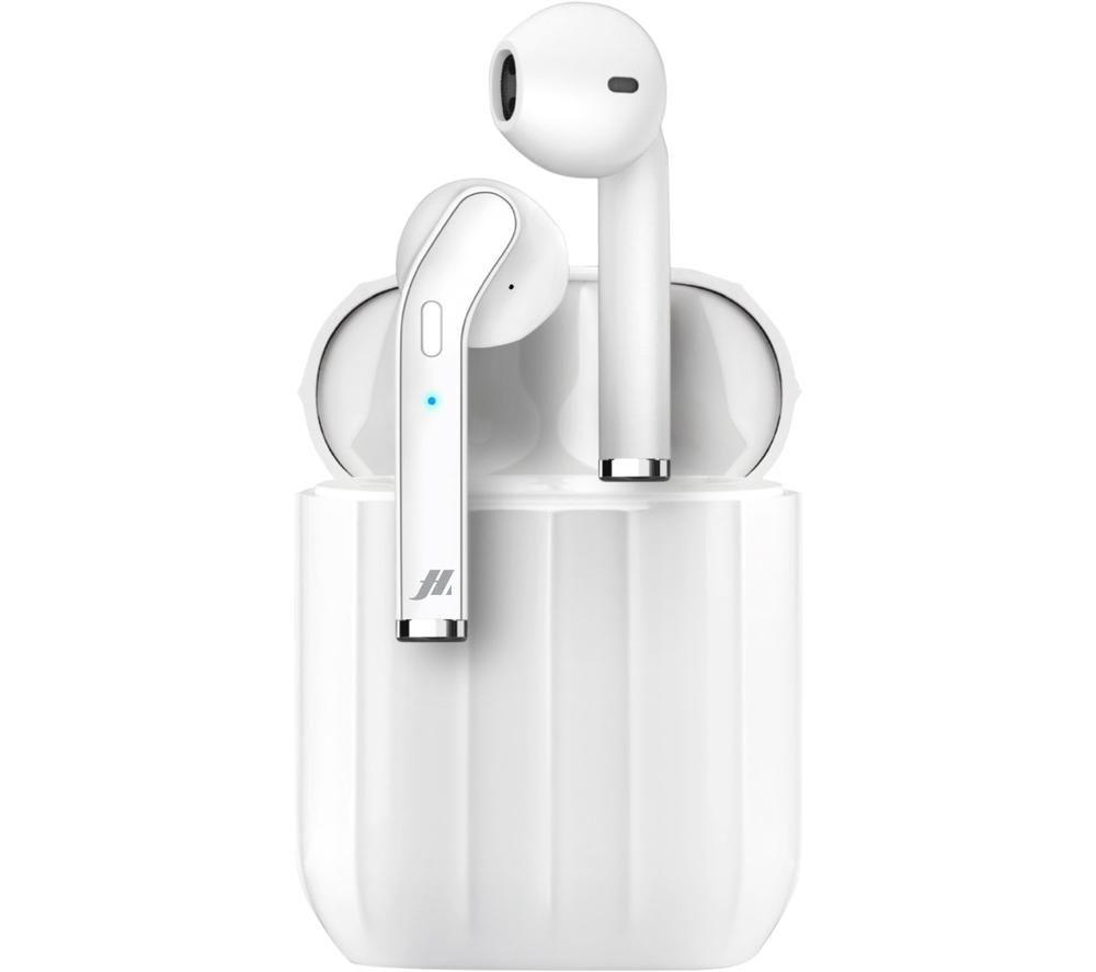 SBS Music Hero Style MHTWSSTYLEBTW Wireless Bluetooth Earphones - White, White