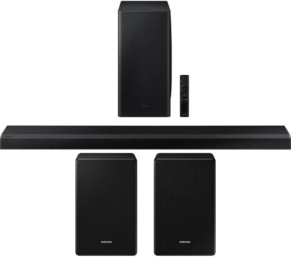SAMSUNG HW-Q800A/XU 3.1.2 Wireless Sound Bar with Dolby Atmos & Amazon Alexa & Wireless Rear Speaker Kit Bundle