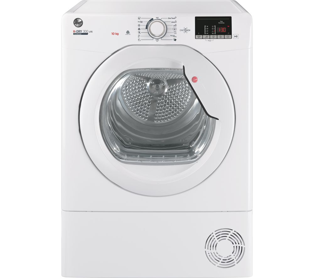 HOOVER H-Dry 300 HLE C10DG WiFi-enabled 10 kg Condenser Tumble Dryer - White