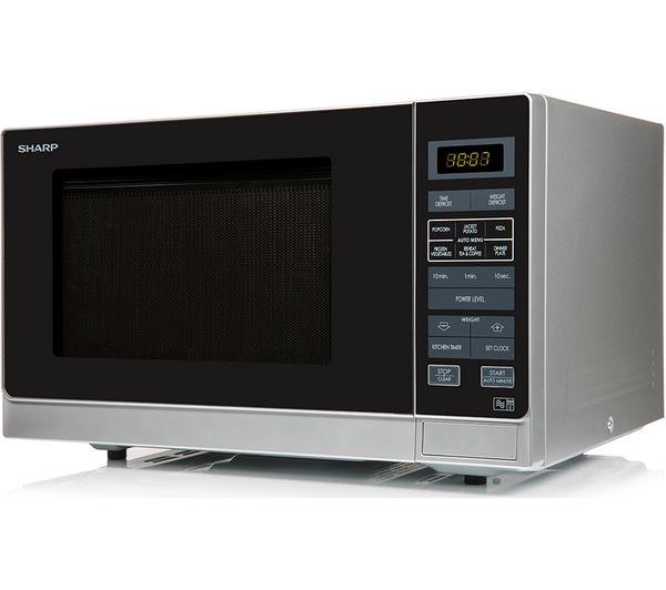 buy sharp r372slm compact solo microwave silver m cuisine microwave omelette bowl orange. Black Bedroom Furniture Sets. Home Design Ideas