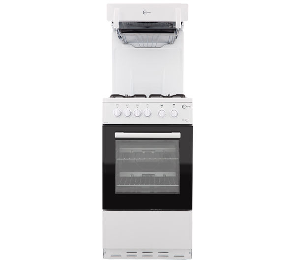 Image of FLAVEL FHLG51W Gas Cooker - White