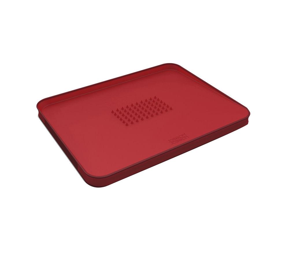JOSEPH JOSEPH 60004 Cut & Carve Plus Chopping Board - Red