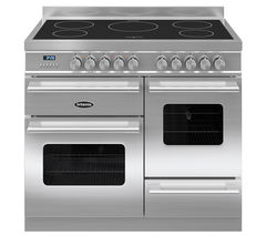 BRITANNIA Delphi 100 XG Electric Induction Range Cooker - Stainless Steel