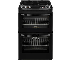 ZANUSSI ZCV46000BA 55 cm Electric Ceramic Cooker - Black