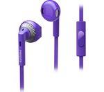 PHILIPS SHE3205PP/00 Headphones - Purple
