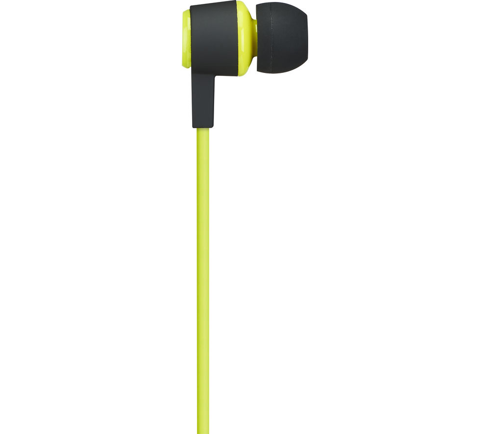 GOJI GSPINBT16 Wireless Bluetooth Headphones – Black & Green