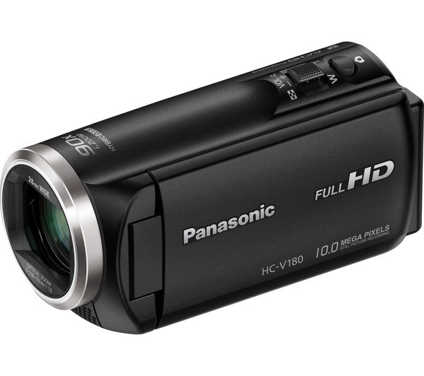 buy panasonic hc v180eb k camcorder black free delivery currys rh currys co uk Owner's Manual Manuals in PDF