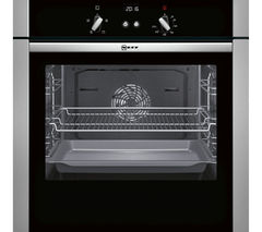 NEFF B44S32N5GB Slide & Hide Electric Oven - Stainless Steel