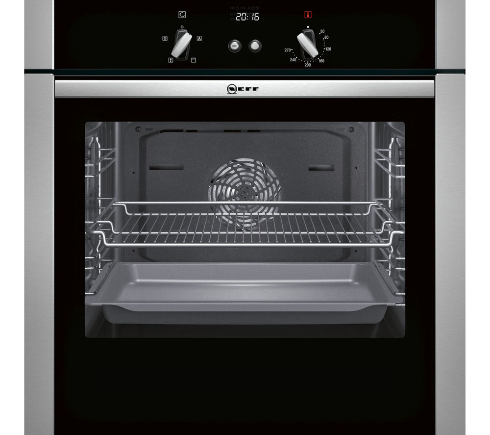 Buy Neff B44s32n5gb Slide Hide Electric Oven Stainless Steel  # Hide & Seek Muebles
