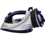 RUSSELL HOBBS Easy Plug & Wind 18617 Steam Iron - White & Purple