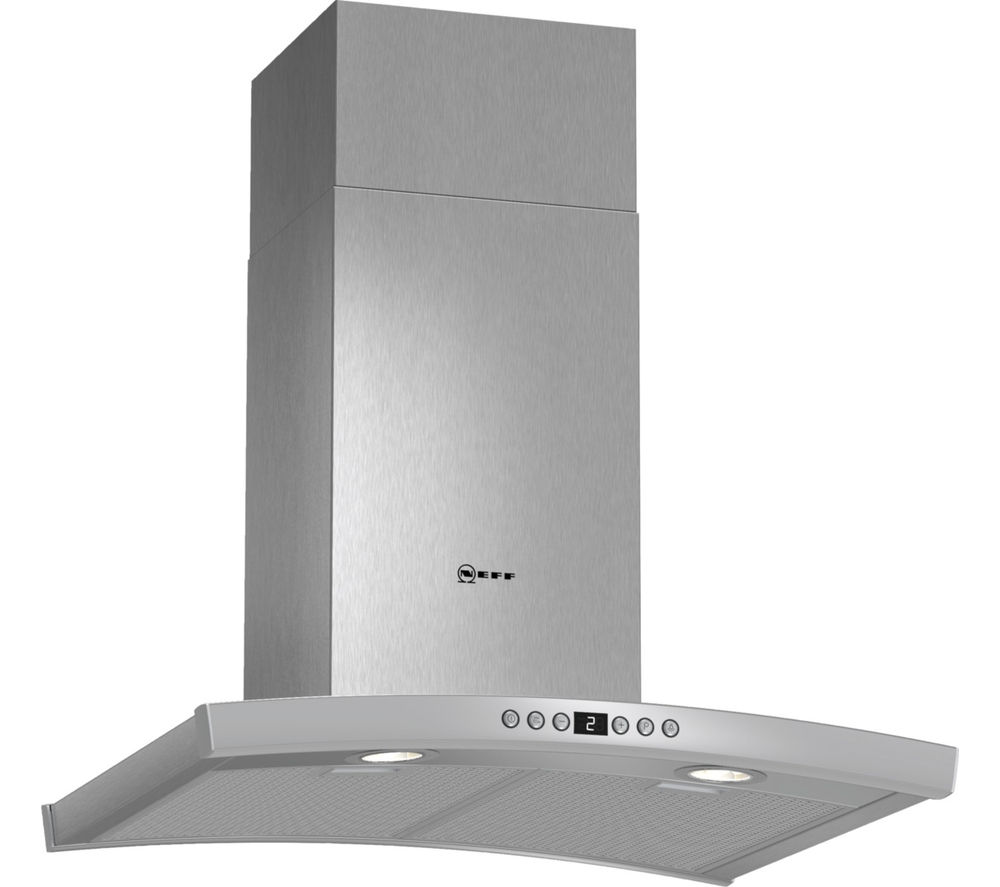 NEFF N70 D86DK62N0B Chimney Cooker Hood - Stainless Steel