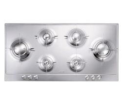 SMEG Piano Design P106ES Gas Hob - Stainless Steel
