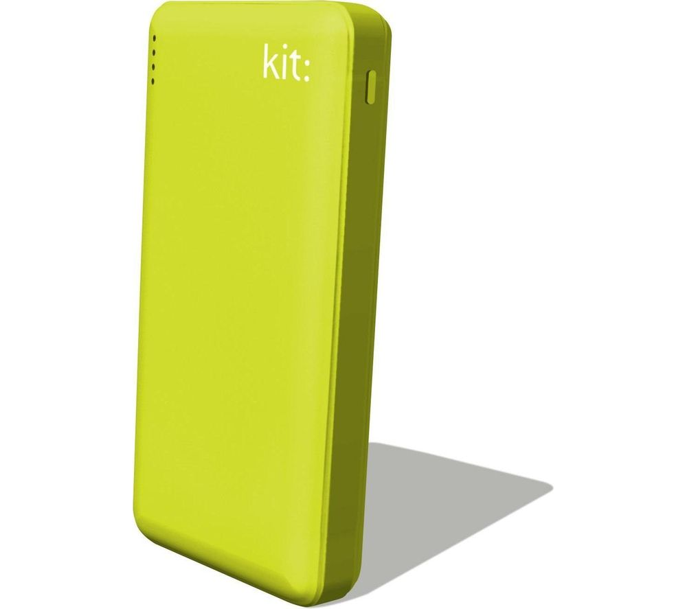 KIT FRESH 12000 mAh Portable Power Bank - Green