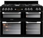 LEISURE Cuisinemaster CS110F722K 110 cm Dual Fuel Range Cooker - Black
