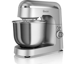 SWAN Retro SP25010SN Stand Mixer - Silver
