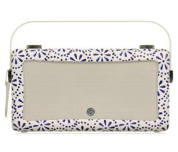 by Emma Bridgewater VQ Hepburn Portable DAB+ Bluetooth Radio - Blue Daisy