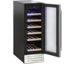 WS19SDX Wine Cooler - Stainless Steel
