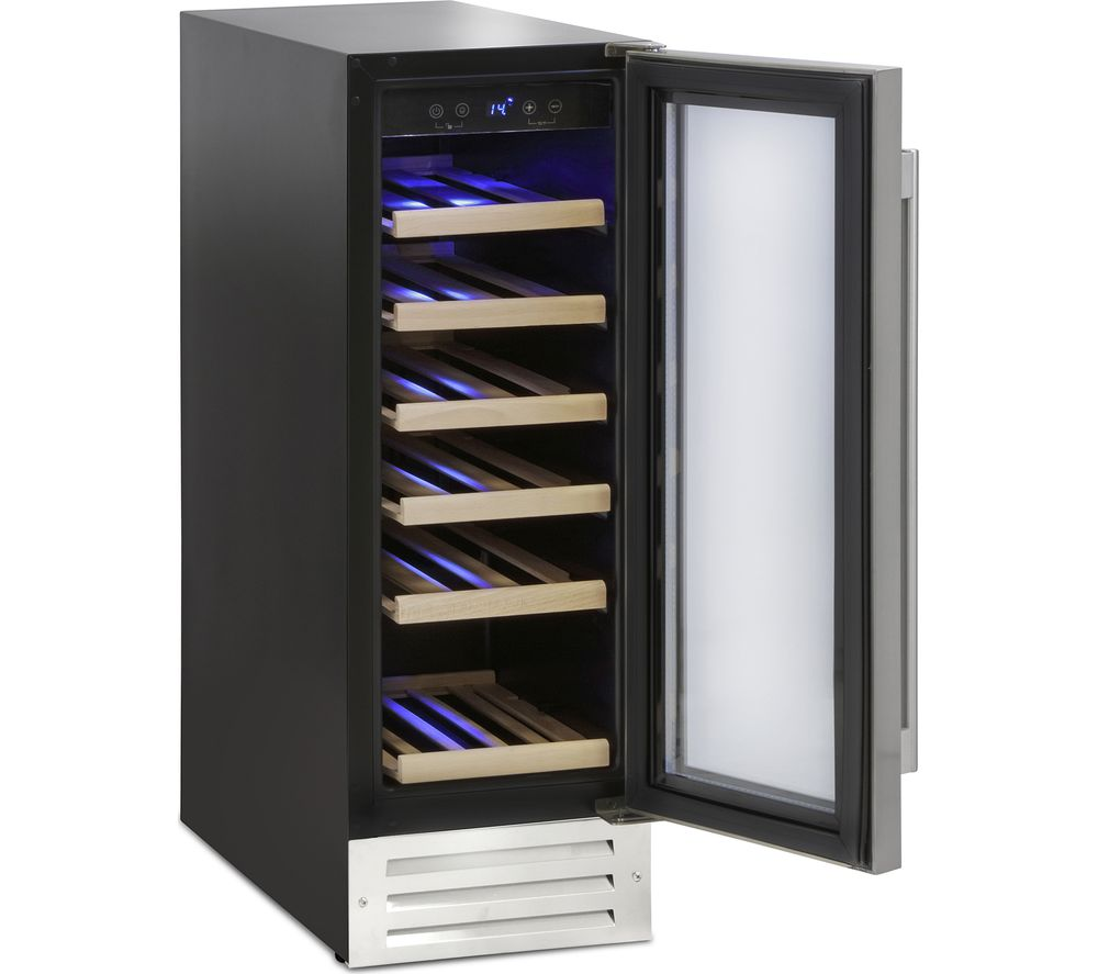 MONTPELLIER WS19SDX Wine Cooler – Stainless Steel, Stainless Steel