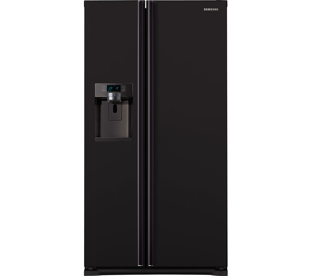 SAMSUNG RSG5MUBP1 American-Style Fridge Freezer - Black