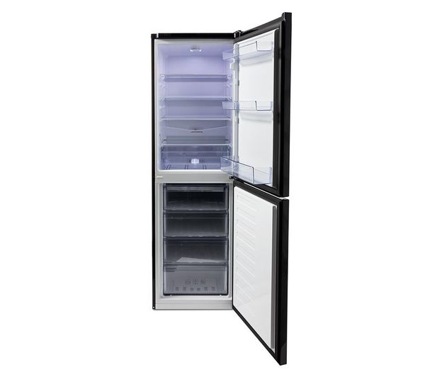Buy Beko Csg1582b 50 50 Fridge Freezer Black Free