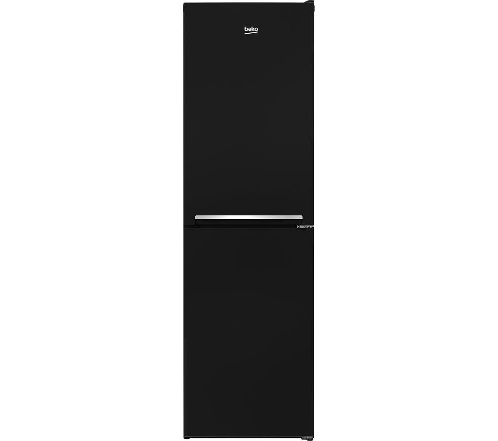BEKO CSG1582B 50/50 Fridge Freezer - Black, Black
