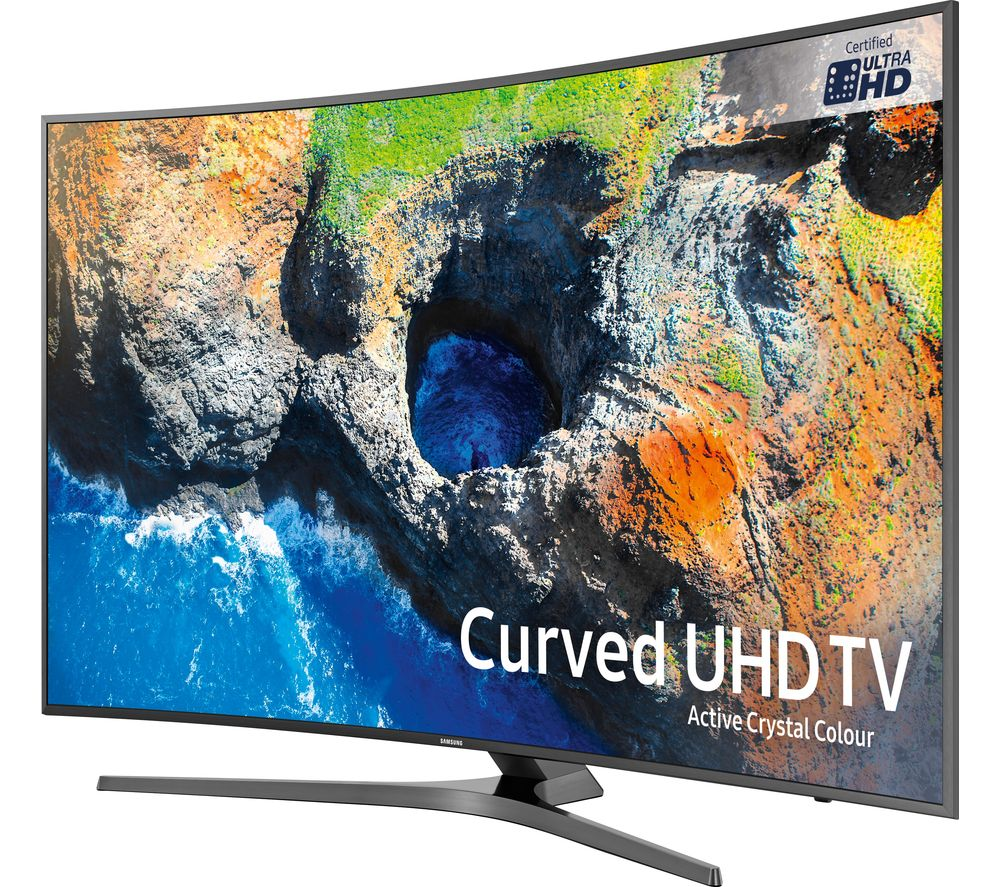 "SAMSUNG UE49MU6670 49"" Smart 4K Ultra HD HDR Curved LED TV"