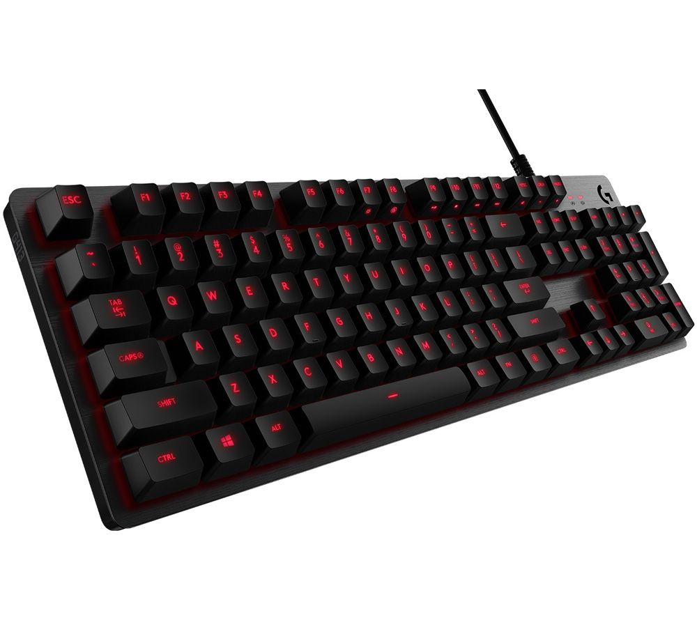 Buy Logitech G413 Mechanical Gaming Keyboard Free Delivery Currys Mouse Pad Microsoft Bundle These Items