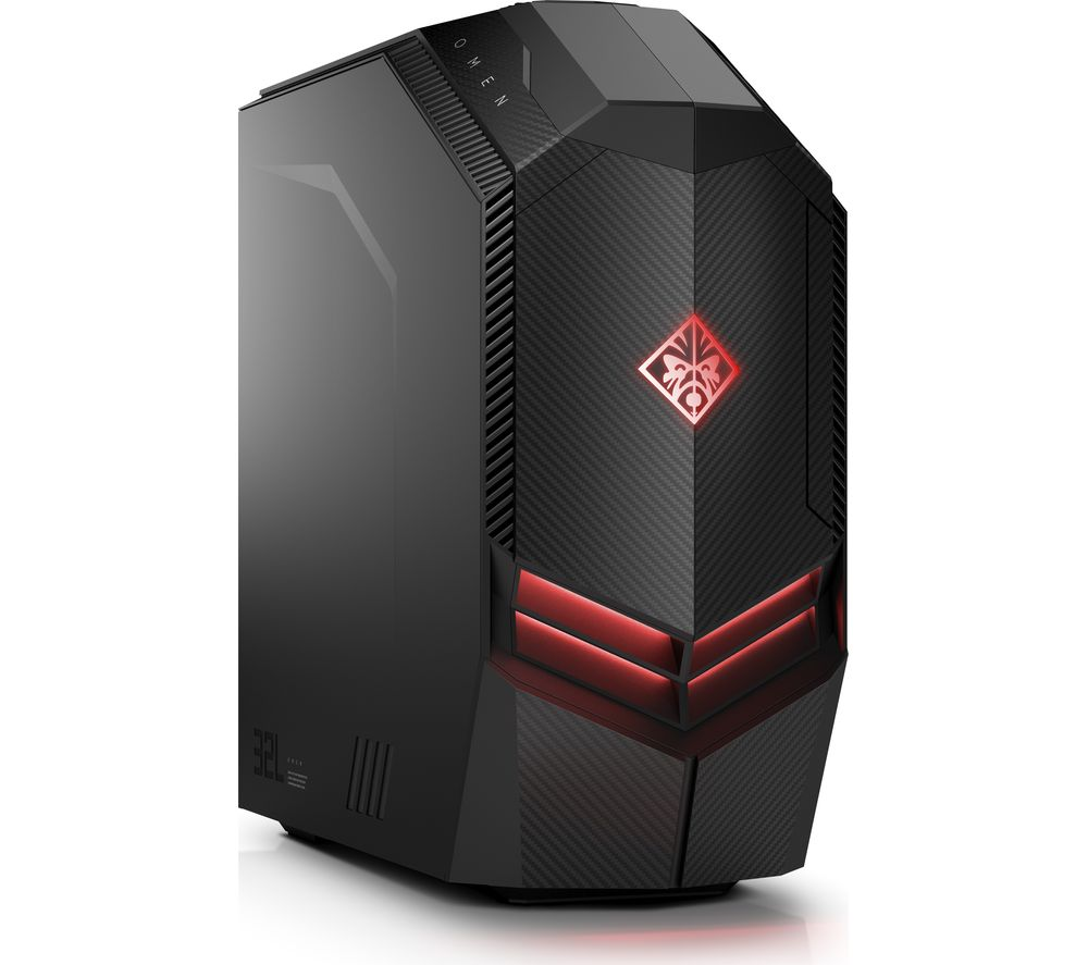 HP OMEN 880-011na Gaming PC + LiveSafe Premium 2018 - 1 user / unlimited devices for 1 year + Office 365 Home - 1 year for 5 users