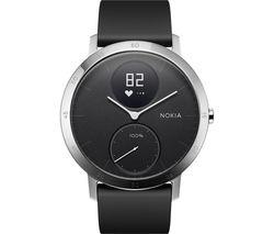 NOKIA Steel HR 40 Activity and Sleep Tracker - Black, Medium