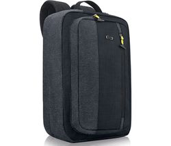 """SOLO Velocity Work-to-Play Hybrid 15.6"""" Laptop Backpack - Blue"""