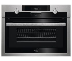 AEG KME561000M Electric Oven with Microwave- Stainless Steel