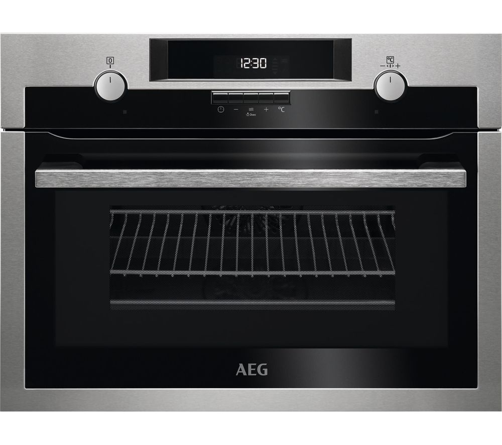 AEG KME561000M Electric Oven with Microwave - Stainless Steel