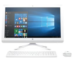 "HP 24-e080na 24"" All-in-One PC - White"