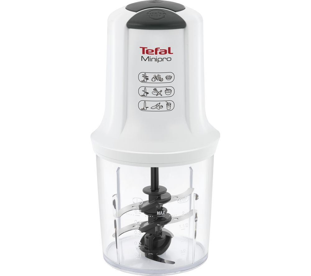 TEFAL Pro MQ714140 Mini Chopper - White