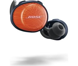 BOSE SoundSport Free Wireless Bluetooth Headphones - Orange & Blue