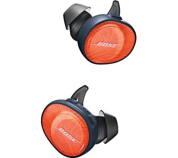 9416148ba56 Buy BOSE SoundSport Free Wireless Bluetooth Headphones - Orange ...