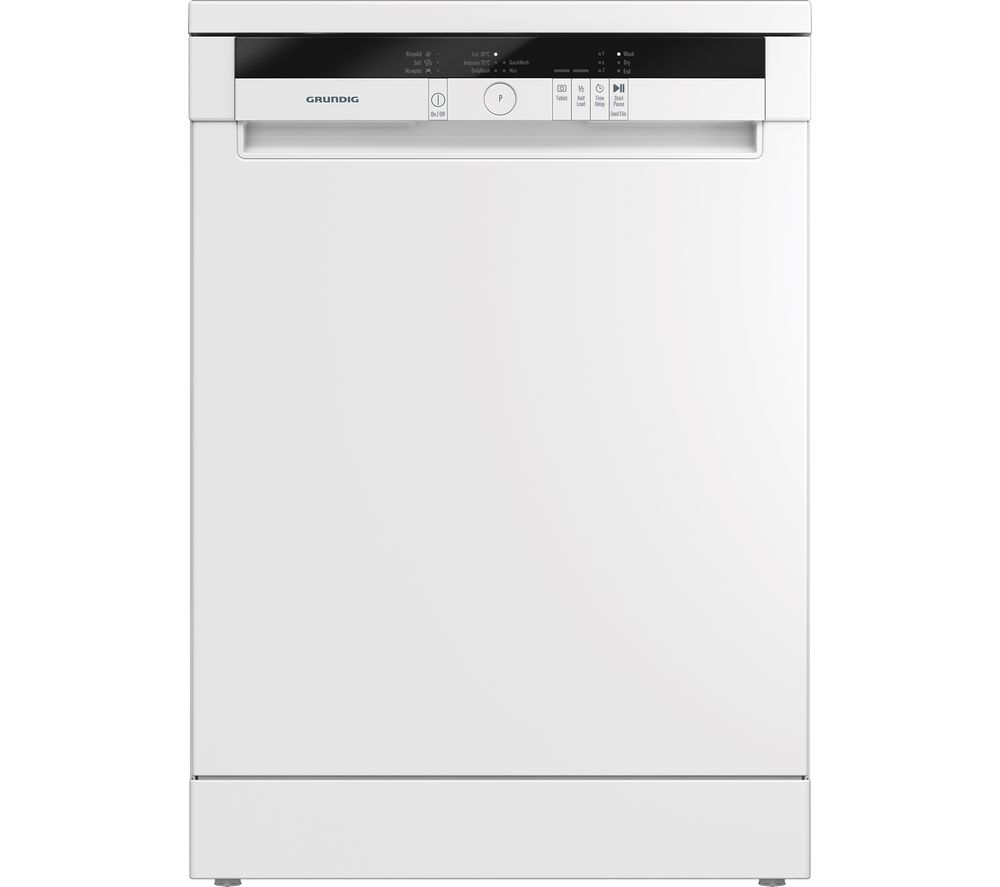 GRUNDIG GNF11510W Full-size Dishwasher - White, White