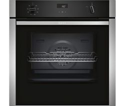 NEFF B4ACF1AN0B Slide and Hide Electric Oven - Stainless Steel
