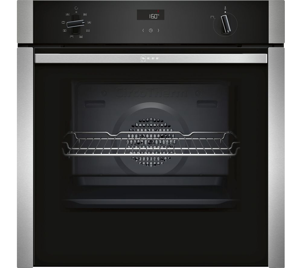 NEFF B4ACF1AN0B Electric Oven - Stainless Steel, Stainless Steel