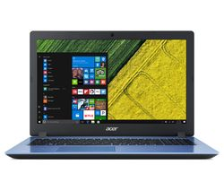"ACER Aspire 3 15.6"" Intel® Core™ i3 Laptop - 128 SSD, Blue"