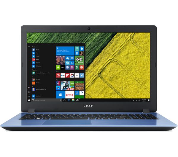 "Image of ACER Aspire 3 15.6"" Intel® Core™ i3 Laptop - 128 SSD, Blue"