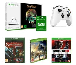 MICROSOFT Xbox One S with Sea of Thieves