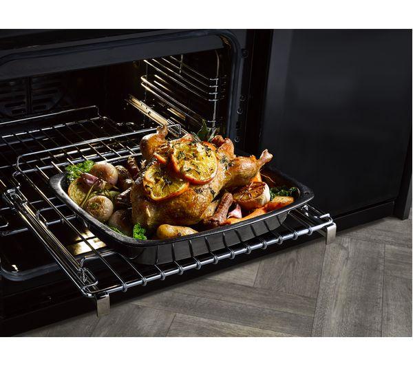 Buy STOVES Richmond S900DF CC 90 cm Dual Fuel Range Cooker - Black | Free  Delivery | Currys