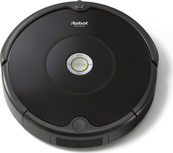 Image of IROBOT Roomba 606 Robot Vacuum Cleaner - Black