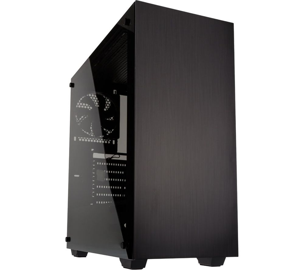 Image of KOLINK Stronghold E-ATX Mid-Tower PC Case - Black, Black