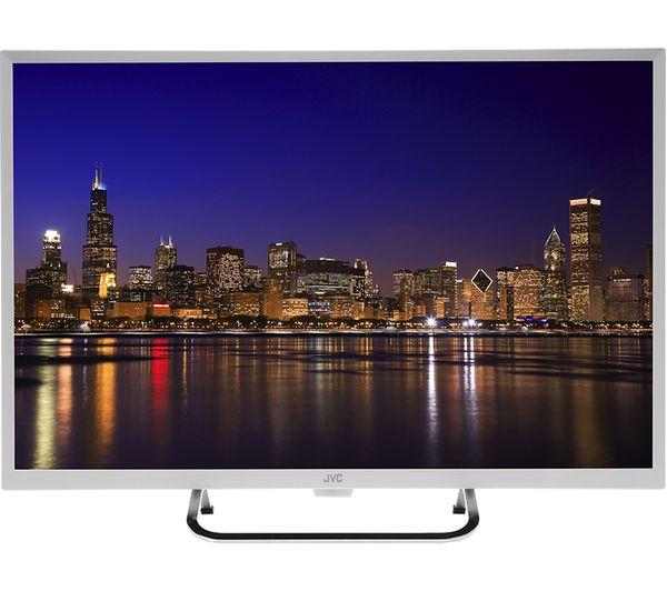 "JVC LT-32C491 32"" HD Ready LED TV - White"