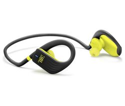 JBL Endurance Jump Wireless Bluetooth Headphones - Black & Lime