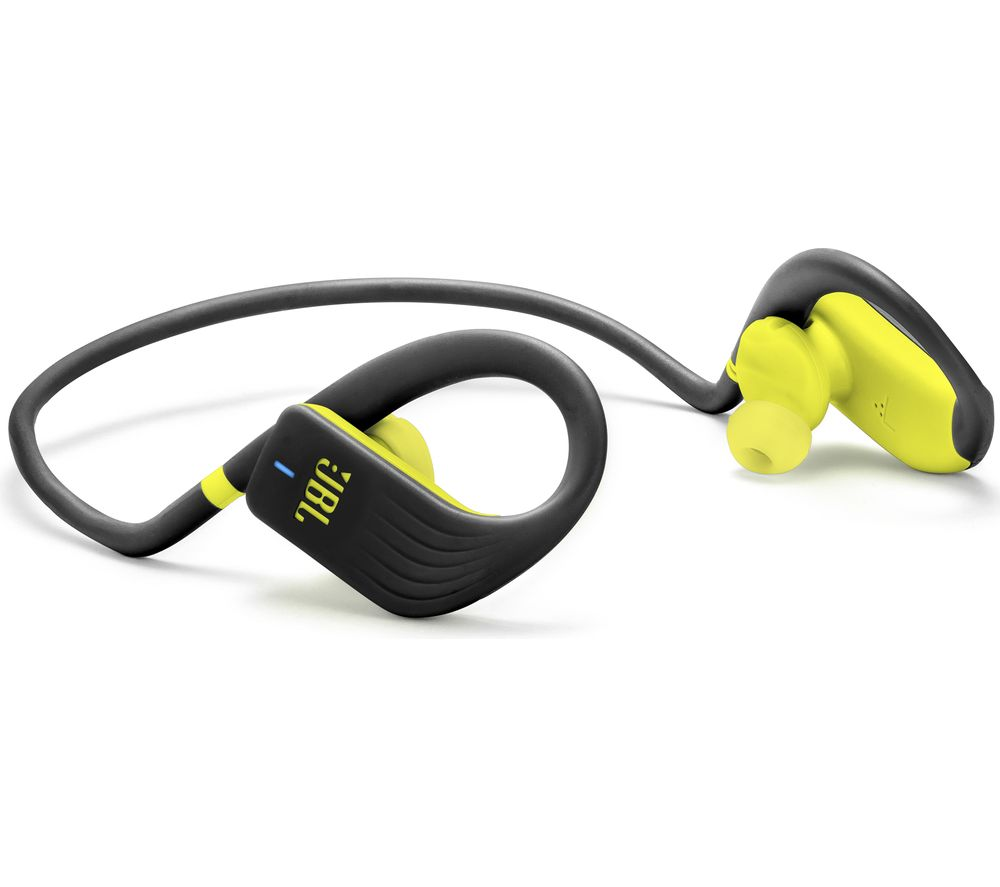 cb8575a5502 Buy JBL Endurance Jump Wireless Bluetooth Headphones - Black & Lime | Free  Delivery | Currys