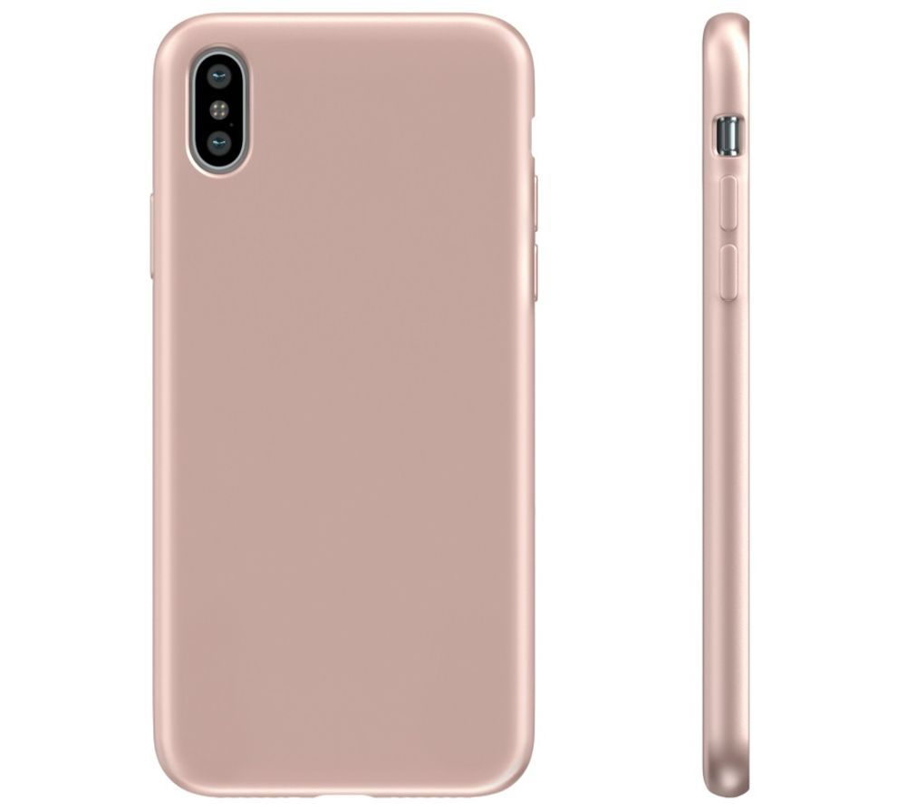 Image of BEHELLO iPhone XS Max Silicone Case - Pink, Pink