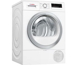 Serie 4 WTR85V21GB 8 kg Heat Pump Tumble Dryer – White